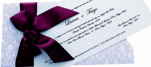 Texto para convites de casamento