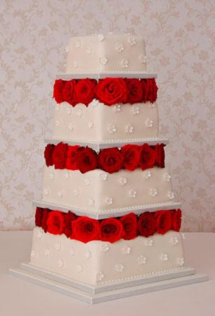 bolo-de-casamento-rosas-vermelhas