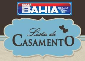 Como preparar lista de casamento nas Casas Bahia