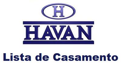 Como preparar lista de casamento na Havan