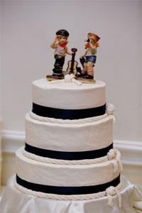 Bolo de casamento Rope Cake