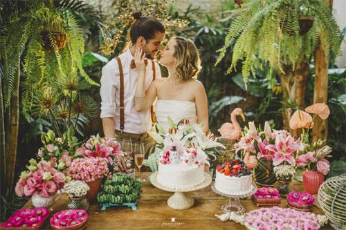 O que é um mini wedding?