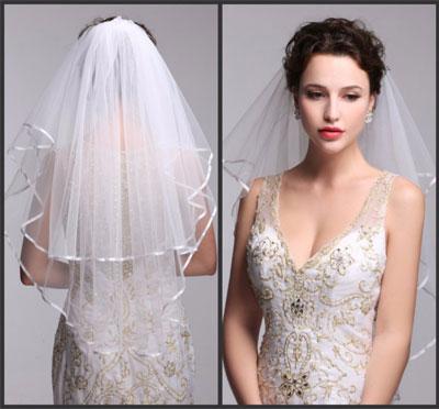 Véu de noiva médio