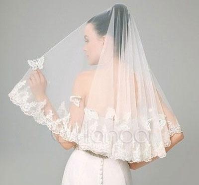 Véu de noiva cotovelo